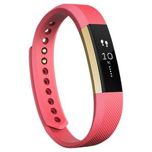 Special Addition Fitbit Alta Wireless Activity and Sleep Tracking Smart Fitness Watch, Small & Large, Pink / Gold with 2 years guarantee £99.95 Free Delivery @ John Lewis