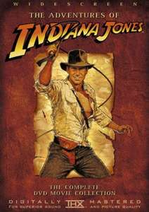 Indiana Jones Trilogy DVD £1.43 (PREOWNED) @ MusicMagpie