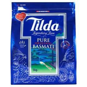 Tilda Basmati Rice 5kg at Asda for £9