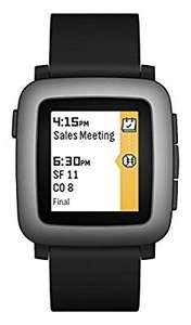 Pebble Time (black) £49.99 @ Amazon (Sold by Laptop Outlet UK and Fulfilled by Amazon)
