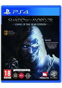 Middle-Earth: Shadow of Mordor GOTY (PS4) Base.com for £11.99