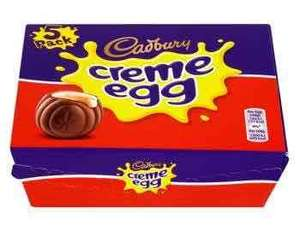 5x free creme eggs with clicksnap (£2 upfront)