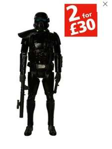 Star Wars Death Trooper 20 inch figure £4.99 @ Argos
