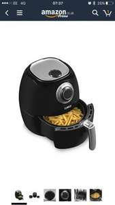 Tower T17005 Healthier Oil Free Rapid Air Fryer, 1350 W, 3.2 L - Black @ Amazon for £46.79 was £129.99