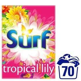 Surf tropical lily 70 wash for £7 @ ASDA