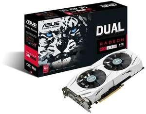 Asus AMD DUAL-RX 480-O8G 8gb Graphics Card at Box.co.uk for £185.99