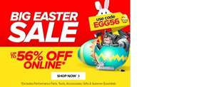 Big Easter Sale up to 56% of Online @ Euro Car Parts