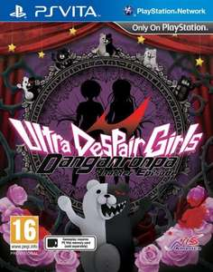Amazon lightning deals (Vita) - Danganronpa: Ultra Despair Girls + 3 more (Prices in thread) - £12.99