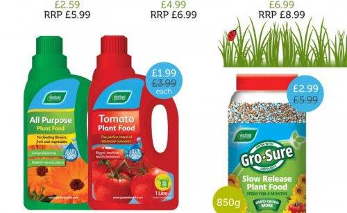 All purpose plant food £3.99 > £1.99 @ home bargins