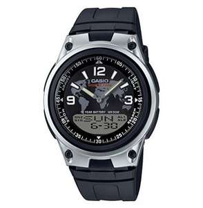 Casio Collection Men's Watch with 10-year battery, world time function, 3 daily alarms, etc (AW-80-1A2VEF) = £16.39 delivered @ 7DayShop
