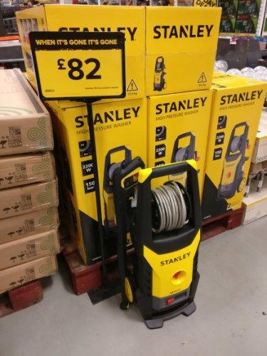 Stanley SXPW22E 2.2kw/150bar pressure washer - £82 @ B&Q