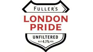 Free pint of London Pride Unfiltered at any Fuller's pub for email subscribers