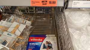 Vileda ViROBi Li-Ion Rechargeable Robotic Duster- Reduced Lidl Instore