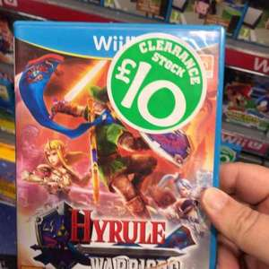 Hyrule Warriors Wii U/ £10 only instore / online for C+C @ Smyths Toys