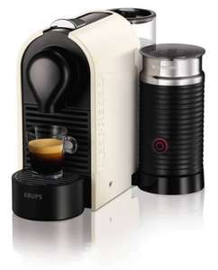 Nespresso U and Milk Pure Cream Coffee Capsule Machine £60 del @ Amazon
