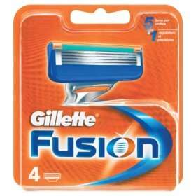Gillette Fusion Razor Blades 4 pack £6 instore and online @ Asda