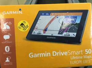 Tescos in store Garmin DriveSmart 50 Europe LM Sat Nav for £59.15