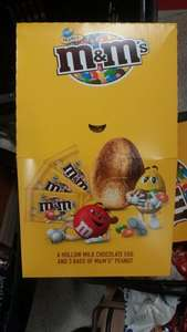 Large M&Ms peanut Easter egg £1.49 in store Heron Foods