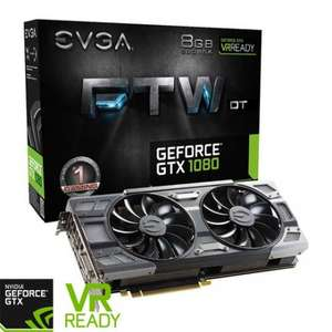 EVGA GTX 1080 FTW DT GAMING 8GB from £479.99 Scan.co.uk