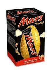 Mars easter egg 59p in store Heron Foods