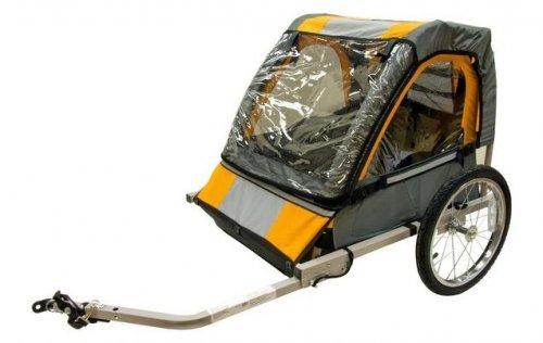 Halfords Double child bike trailer £99