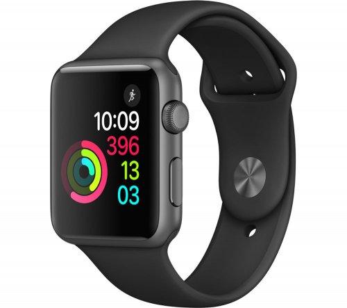 Apple Watch Series 1 42mm 10% off voucher code WATCH10 £299.99 @ Currys