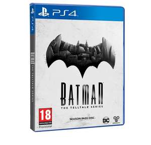 [PS4] Telltales Batman - £8.99 (£10.98 Non-Prime) - Lightning Deal (Amazon)