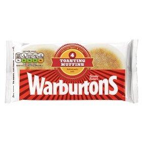 Warburtons 4pk Toasting Muffins 50p / Warburtons 6pk Potato Cakes 50p  @ Asda