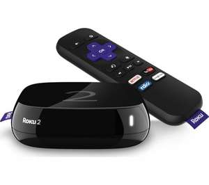 Roku 2 4205eu HD smart box £39.99 @ currys same price as argos! Sky are updating their cheap roku 2 so worth having this if you want plex