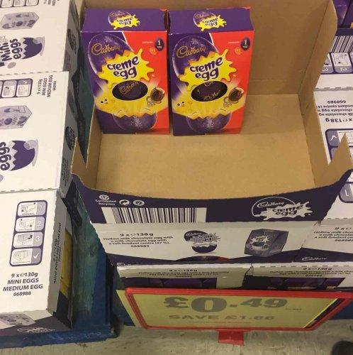Cadbury Creme egg Easter pack @ Makro Leeds for 49p