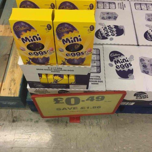 Cadbury Easter mini @ Makro Leeds for 49p