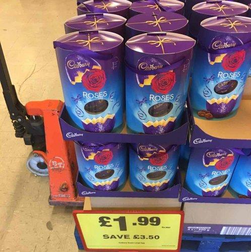 Cadbury Easter Roses @ Makro Leeds for £1.99.