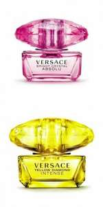 Eau de Parfum 50ml.Versace Diamond or Crystal. Free delivery - £25 @ Beauty Base.