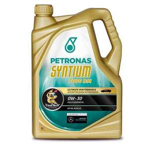 Petronas Syntium 7000 DM Engine Oil - 0W-30 - 5ltr. £28.14 delivered @ Carparts4less