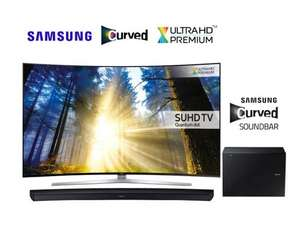 "55"" Samsung Curved TV KS9000 + Curved Soundbar 7500R (save £400) £1599 @ Reliant Direct"