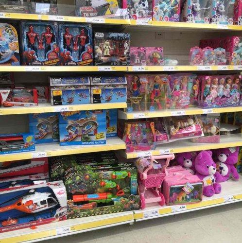 half price toys at Tesco