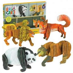The World of Eric Carle Animal Sculptures £4.50 delived with code 25EAST @ The Internet Gift Store
