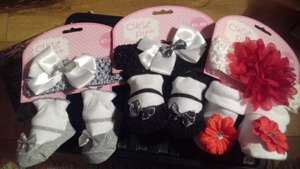 Cutsie pie sock and headband sets £1.49 @ home bargains instore