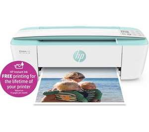 HP DeskJet 3730 All-in-One Wireless Inkjet Printer + LIFETIME HP Instant Ink (based on 15 pages per month) + TCB + Free C&C or Delivery £49 @ Curry's