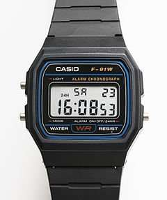 Casio Classic F-91W £6.89 delivered 7dayshop