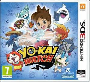 YO-KAI WATCH [3DS] £15.19 Prime / £18.07 Non Prime @ Amazon