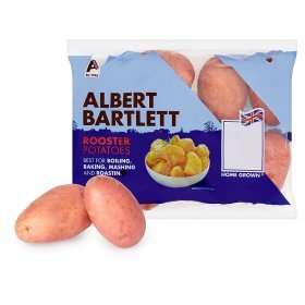 Albert Bartlet Rooster potatoes (2KG) only 75p at ASDA