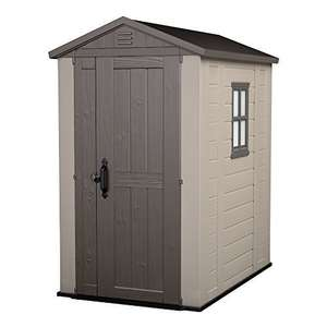 Keter Factor Outdoor Plastic Garden Storage Shed, 4 x 6 feet £229.60 @ Amazon DOTD