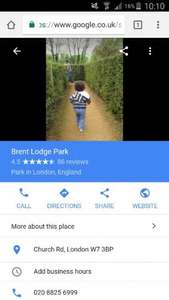 Great little mini zoo and park £2 Brent Lodge Park animal centre