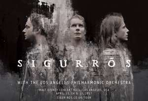 Sigur Rós live from the Walt Disney Concert Hall, with the Los Angeles Philharmonic Association @ YouTube