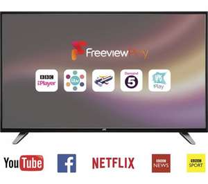 "JVC LT-55C760 55"" Full HD 1080p Smart LCD TV with Freeview HD Black £399 from Currys / PCworld"