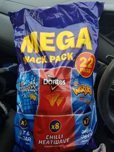 22 pack walkers crisps for £1 in asda