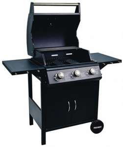 Flame Master Professional Chef 3-Burner Gas Barbecue £110.49 click & collect @ Robert Dyas