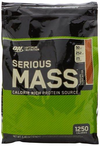 Optimum Nutrition Serious Mass Weight Gain Powder, 5.44 kg - Chocolate Peanut Butter  £32.99 @ Amazon