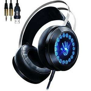 AOSO LED surround sound Gaming Headset £5.99(Prime) £8.98 (non prime) Sold by Aosotech UK Store and Fulfilled by Amazon.